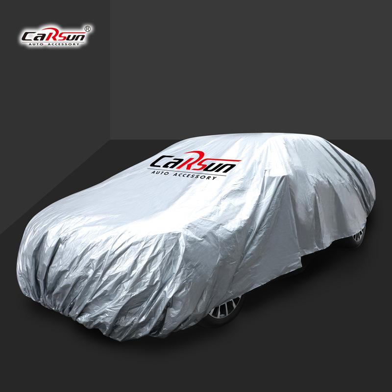 Carsun Áo trùm xe hơi Nhà máy trực tiếp xuyên biên giới logo tùy chỉnh quảng cáo xe quần áo quà tặng