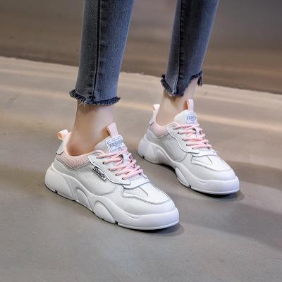SGEZ Giày da một lớp Giày da nhỏ màu trắng dành cho nữ mùa xuân 2020 phiên bản mới của Hàn Quốc của