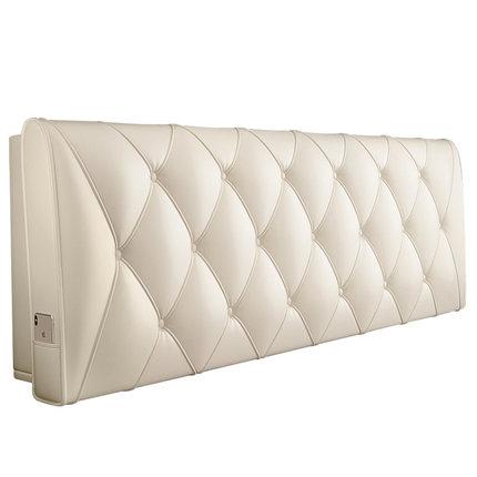 Gujia Vải ốp tường  đầu giường gói mềm đôi đệm da bọc nệm giường gỗ rắn đệm giường lớn trở lại đệm t