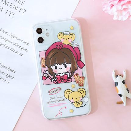 bao da điện thoại Bản gốc Sakura p30p20 vỏ mềm nova6 / 5pro / 4/3 / 2s Ốp lưng điện thoại di động Hu