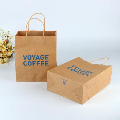 Túi giấy Hoạt hình sáng tạo quần áo tông trắng mua sắm túi thực phẩm bao bì giấy túi túi giấy tùy ch