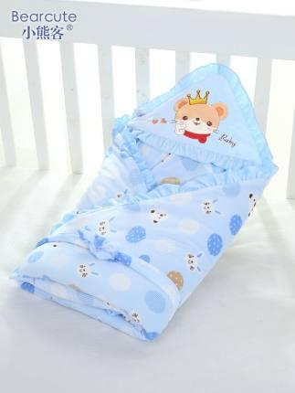 Khăn quấn  Chăn trẻ sơ sinh chăn mùa xuân và mùa thu mùa đông trẻ sơ sinh cung cấp dày khăn chăn gi