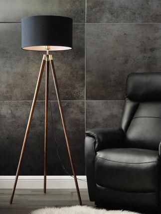 Đèn âm đất  Trên sàn đèn phòng khách đơn giản hậu hiện đại sáng tạo đèn sàn Bắc Âu Mỹ thiết kế nhà