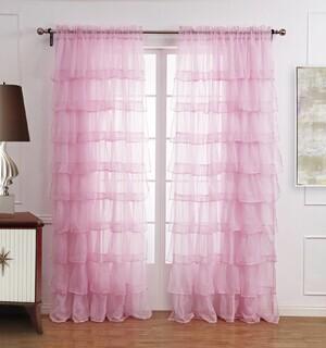 HAITAI rèm cửa sổ ht-034 Rèm cửa hoàn thiện Rèm cửa phòng bé gái siêu dễ thương Rèm phòng ngủ có thể