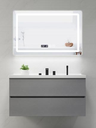 Tủ phòng tắm Thông minh đơn giản hiện đại tủ phòng tắm kết hợp nhà vệ sinh vanity phòng tắm tủ vanit