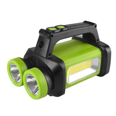 HX Đèn LED khẩn cấp Nhà máy trực tiếp 8802B Công suất khô COB Đèn pin khẩn cấp ngoài trời LED Glare