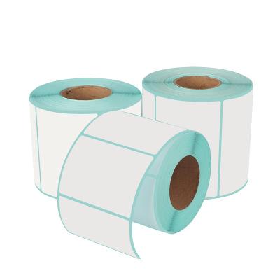 CYD Tem dán in mã vạch Ba miếng dán chống nhiệt giấy trắng nhãn giấy in mã vạch đơn E-mail Kho báu m