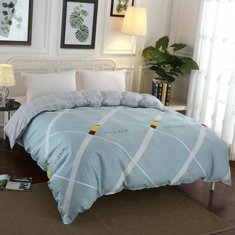 Tongyan drap mền Home Dệt Cotton Chăn Cover Cotton quilt Cover Single Piece Cotton Cotton Twill quil