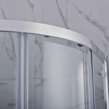 Jiumu Bồn đứng tắm  tổng thể phòng tắm phòng tắm vách ngăn tách khô và ướt tích hợp phòng tắm kính c