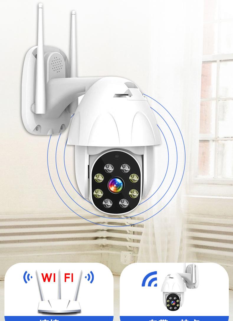 Camera giám sát HD 360 độ nét cao không thấm nước .