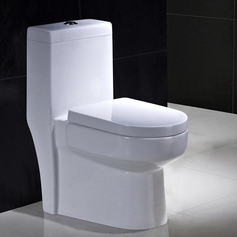 JINMUXING Bồn cầu Nhà máy trực tiếp bình thường hộ gia đình phòng tắm gốm siphon câm vệ sinh kỹ thuậ