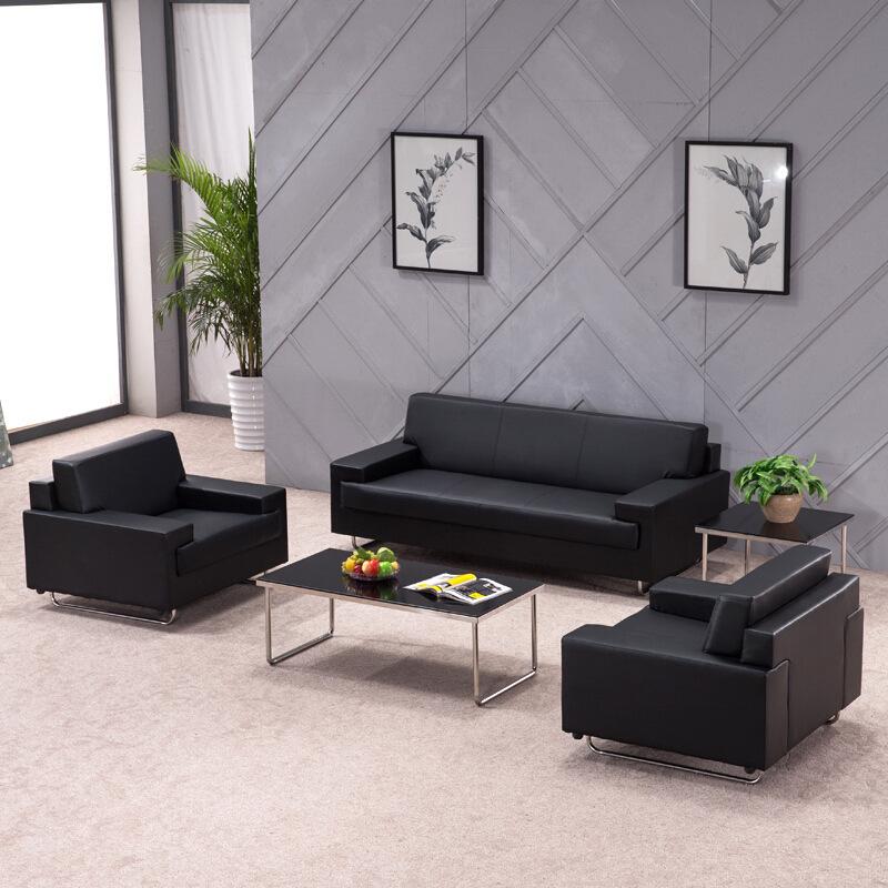 OUBAOMEI Ghế Sofa Sofa văn phòng 4s shop đơn giản hiện đại sofa kinh doanh tiếp tân phòng tiếp tân c