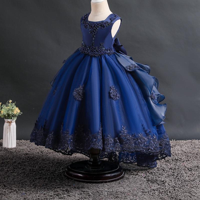 Trang phục dạ hôi trẻ em Váy bé gái váy đầm xòe trẻ em