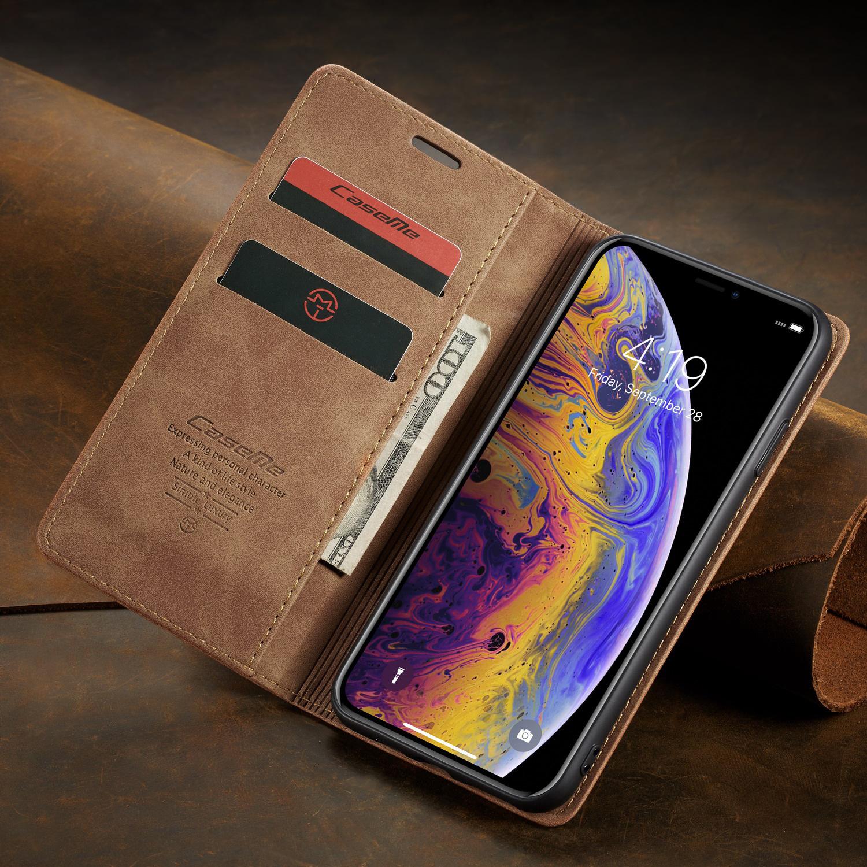 CaseMe bao da điện thoại Thích hợp cho vỏ điện thoại di động Apple Xs Max iPhone11 bao da điện thoại