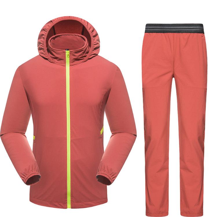 Quần áo mau khô Ngoài trời cặp vợ chồng nhanh khô quần thể thao mùa hè leo núi áo chống nắng nhanh k