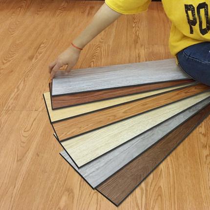Honglilai Ván sàn  10 miếng dán sàn PVC vuông tự dính sàn nhà chống thấm sàn xi măng da