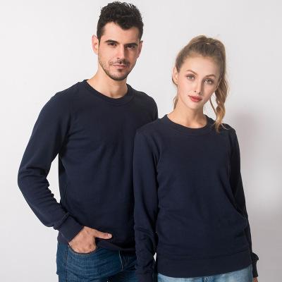 QIMEI Sweater (Áo nỉ chui đầu) Mùa thu áo trống tùy chỉnh in phòng ngừa dịch vụ họp lớp mới Cổ áo th