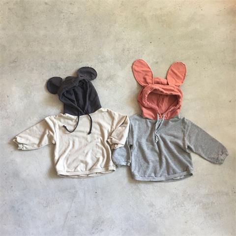 JXWE Phong cách Hàn Quốc 2020 Quần áo trẻ em Hàn Quốc mùa xuân và mùa thu mới bé trai và bé gái tai
