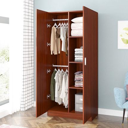 Yuan Fang Yuan Ván gỗ  Tủ quần áo đơn giản hiện đại lắp ráp kinh tế cho thuê bảng gỗ cho thuê ký túc