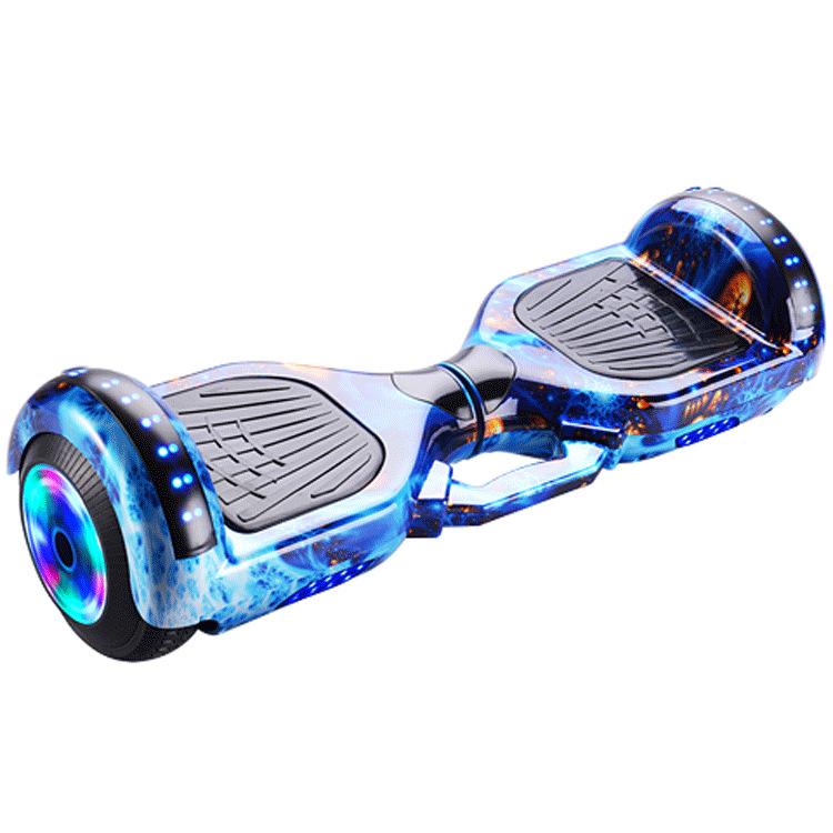 QINGYING Xe điện 2 bánh tự cân bằng Xe cân bằng 6,5 inch Xe hai bánh xoắn xe suy nghĩ somatosensory