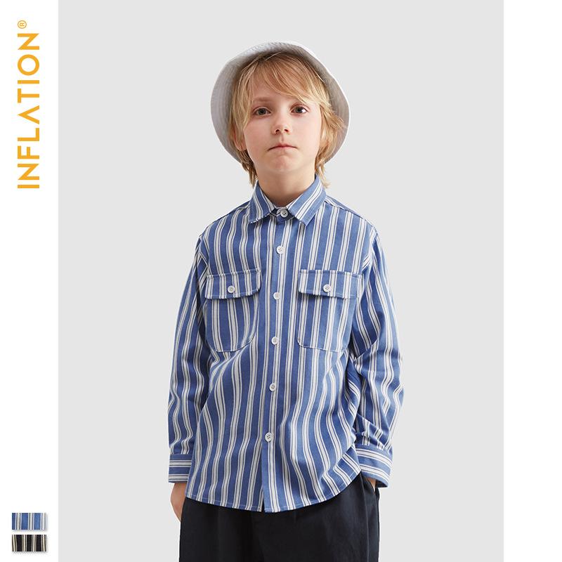 Inflation Áo Sơ-mi trẻ em Quần áo trẻ em INF   2020 xuân mới thương hiệu thủy triều 4-15 tuổi bé tra