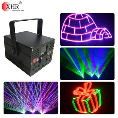 Đèn sân khấu Mới 1w đầy đủ màu hoạt hình laser laser stage bar laser beam laser phòng laser KTV lase