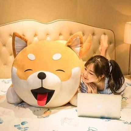 umeong gối ôm Inu búp bê sang trọng đồ chơi búp bê lớn búp bê dễ thương gối ngủ giường siêu mềm nữ q