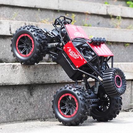 Gogo Xe điều khiển từ xa Điều khiển từ xa xe off-road xe tốc độ cao bốn bánh lái xe sạc điện điều kh
