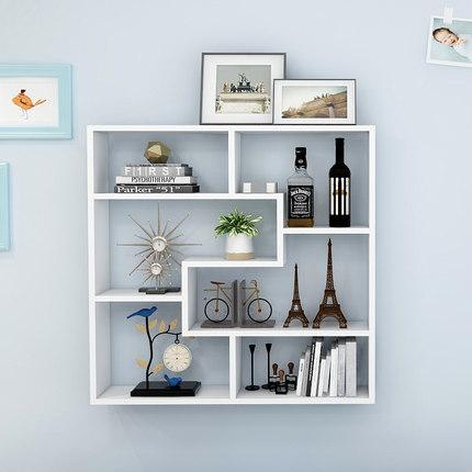 DHP Ván trang trí  Kệ treo tường phòng khách hiện đại treo tường sáng tạo kệ sách phòng ngủ trang tr