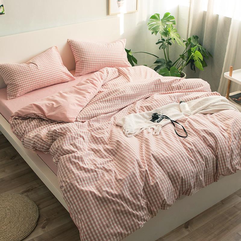 QINGJIUFANG drap mền Chăn bông phong cách Nhật Bản chăn bông đơn mảnh chăn bông chăn bông đôi giường