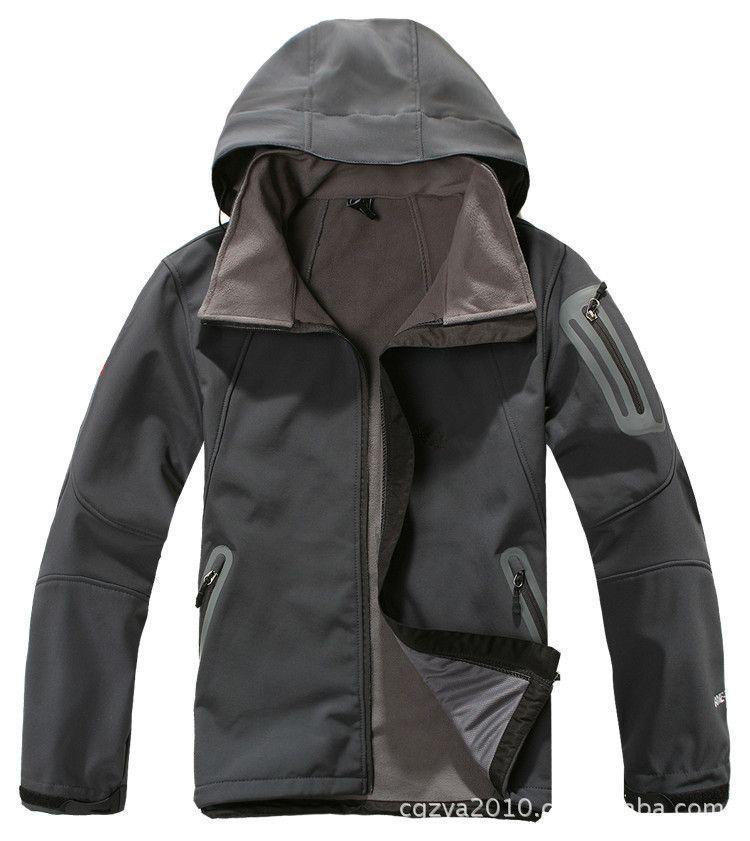 Uolcanic Dome Lót nỉ Soflshell Bán buôn áo khoác vỏ mềm tùy chỉnh ngoài trời đàn ông và phụ nữ lông
