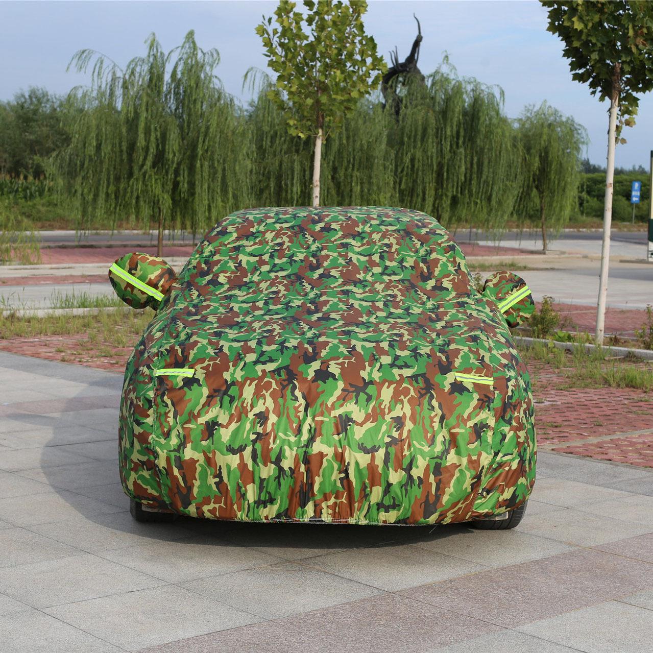 CHEBANG Áo trùm xe hơi Quần áo ô tô che ô tô chống gió và chống bụi bốn mùa phổ quát quần áo áo khoá