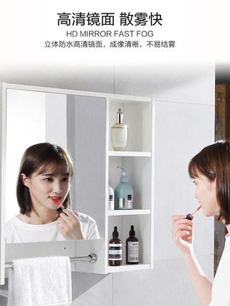 Muge  Tủ phòng tắm Bốn mùa Muge toilet phòng tắm căn hộ nhỏ tủ phòng tắm gỗ rắn hiện đại chậu rửa đơ