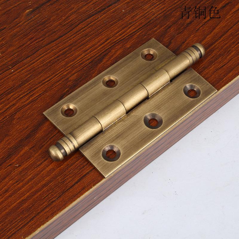 JINGBA Thị trường ngũ kim Trung Quốc đồ cổ tủ cửa tinh khiết đồng che giấu bản lề tủ quần áo đồng bả