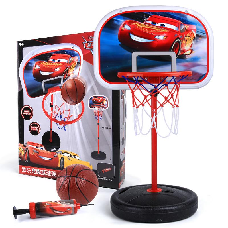 Disney Đồ chơi sáng tạo bóng rổ bé trai 3-6 tuổi có thể nâng hộp chụp trong nhà đồ chơi trẻ em trong