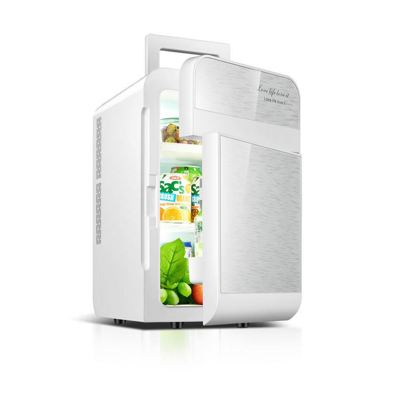 DINGCHI tủ lạnh xe hơi Đinh lăng 20L tủ lạnh lõi kép ô tô xe đôi sử dụng năng lượng thấp phòng ngủ s