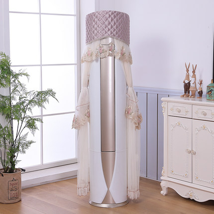 Tilly vỏ bọc điều hoà  Điều hòa không khí bao gồm tủ máy hình trụ tròn Gree phòng khách đẹp Haier tủ