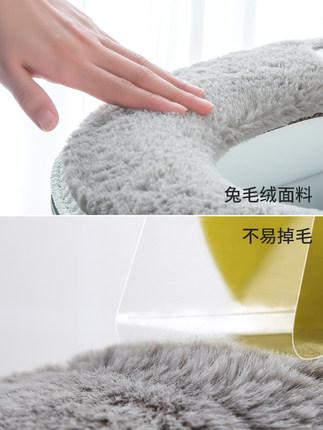 chống thấm nước  Bốn mùa nhà vệ sinh máy giặt ghế pad pad dây kéo phần vệ sinh dày phổ không thấm nư