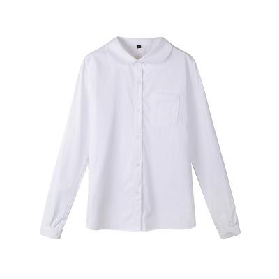 YAYIGE tay dài Nhà sản xuất bán buôn Nhật Bản chính thống học sinh maru ve áo cổ tròn mẫu giáo jk áo