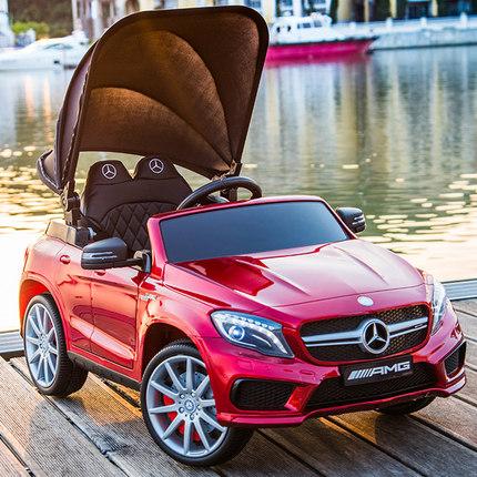 Xe điều khiển từ xa Xe điện trẻ em xe bốn bánh điều khiển từ xa xe đồ chơi có thể ngồi người trẻ em