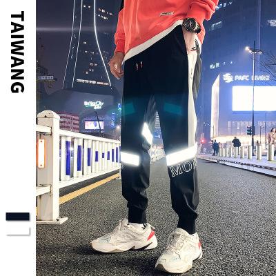 TAIWANG Quần Casual 2020 xuân mới thể thao quần âu nam thương hiệu thủy triều Nhật Bản lỏng quần nam