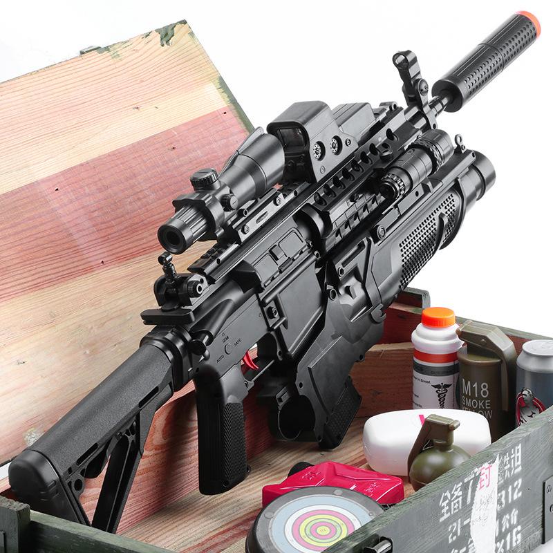 TIANGONG Súng giả M416 Jedi Water Bullet Gun Simulation Model Electric Burst Boy Gun Child Toy Gun W