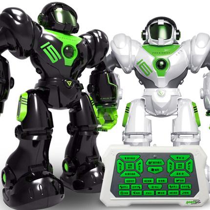 Rôbôt  / Người máy  Đồ chơi robot điều khiển từ xa quá khổ Mới giáo dục sớm đối thoại thông minh nhả