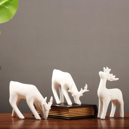 Hobuska  Đồ trang trí bằng gốm sứ  Bắc Âu đơn giản hiện đại gốm trang trí gia đình trang trí phòng k