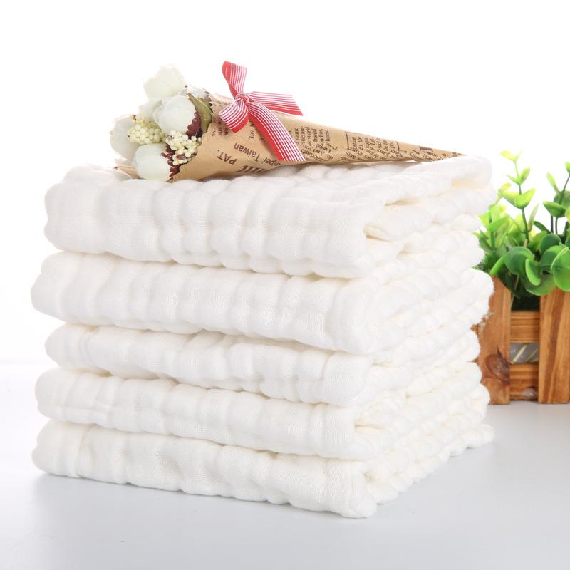 Tả vải Giặt gạc tã bằng vải bông cho trẻ sơ sinh tã không có chất huỳnh quang 17 * 46 12 lớp