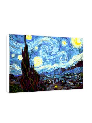 Tranh trang trí  Tự vẽ tranh sơn dầu kỹ thuật số tự làm phòng khách người lớn phong cảnh tô màu vẽ t