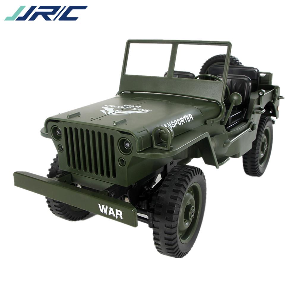 JJRC Xe điều khiển từ xa Q65 1:10 Jedi convertible simulation remote control car light jeep 4WD off-