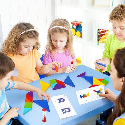 TOI Đồ chơi bằng gỗ Trò chơi ghép hình TOI cho trẻ em Trò chơi ghép hình trí tuệ 3-6 năm Giáo dục sớ
