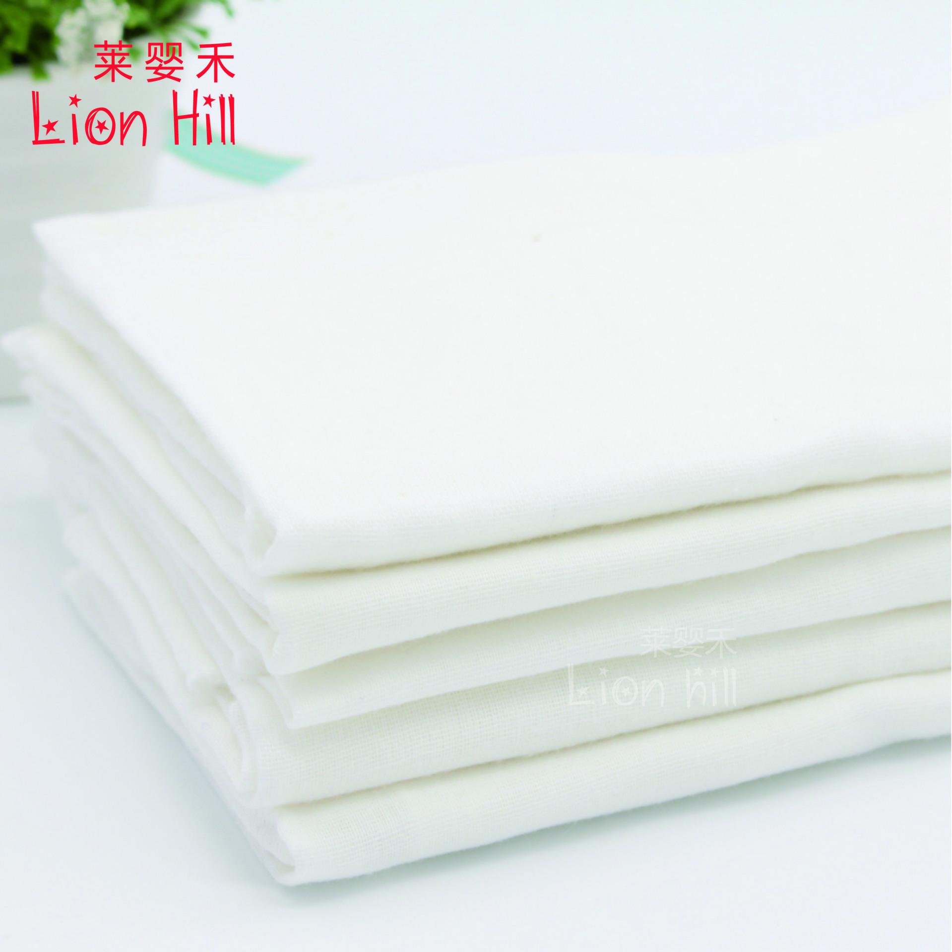 LION HILL Tả vải Tã bông gạc hai lớp 40s hai lớp siêu mềm và siêu dày cotton sơ sinh tốt hơn sợi tre