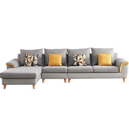 Ghế Sofa Tất cả bạn bè Nội thất Sofa Phòng khách Nội thất lắp ráp hiện đại Đơn giản kết hợp Sofa vải